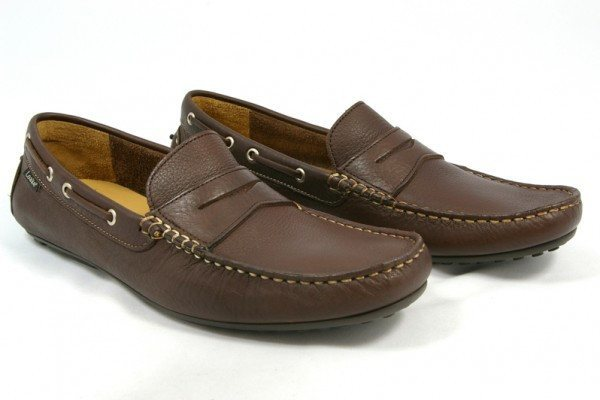 Shoes Men - LOAKE  Healey - Leather Driving Shoes - Brown