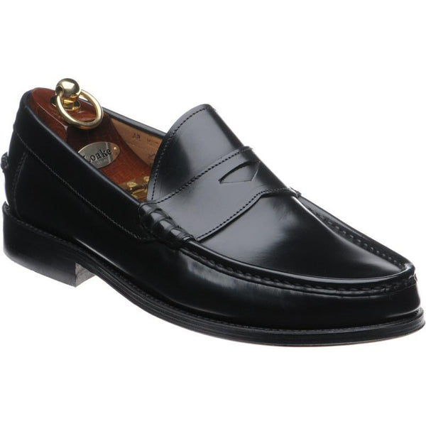 Shoes Men - LOAKE Kingston Loafer  Moccasin Shoe - Black