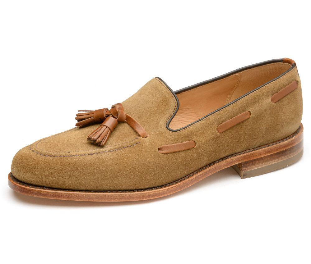 LOAKE Lincoln Tan Suede - c - Ninostyle