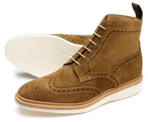 04a8ac4ae094d Shoes Men - LOAKE - MAMBA Brogue Derby Boot