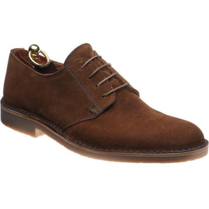 LOAKE Mojave Desert Boot shoe - Brown Suede - Angle View