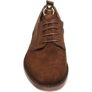 LOAKE Mojave Desert Boot shoe - Brown Suede - Front View