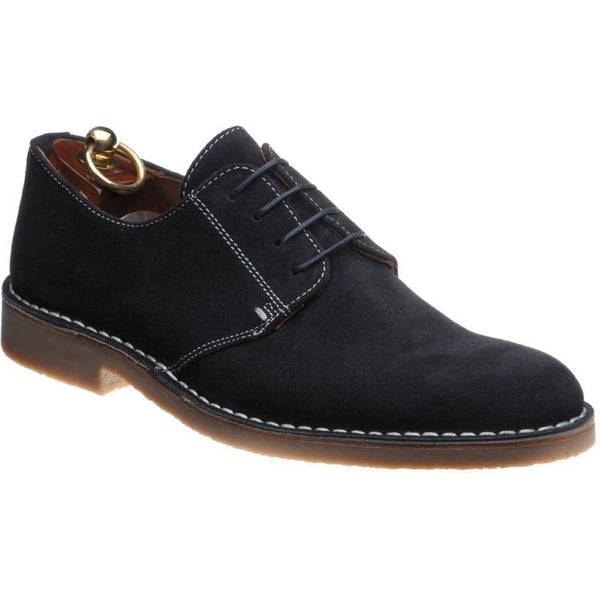 Shoes Men - LOAKE Mojave Desert Boot Shoe - Navy Suede