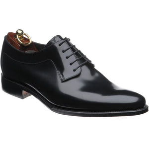 LOAKE  Neo - Stylish plain tie Shoes - Black -  Angle View