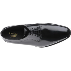 LOAKE  Neo - Stylish plain tie Shoes - Black -Inside view