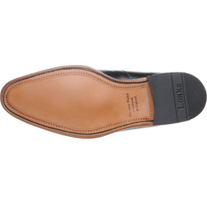 LOAKE  Neo - Stylish plain tie Shoes - Black - Sole