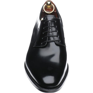 LOAKE  Neo - Stylish plain tie Shoes - Black - Front View