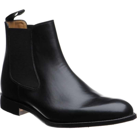 Shoes Men - LOAKE Petworth Chelsea Boots - Black Calf Leather