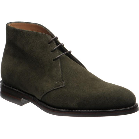 Shoes Men - LOAKE Pimlico Chukka Boot - Olive Green