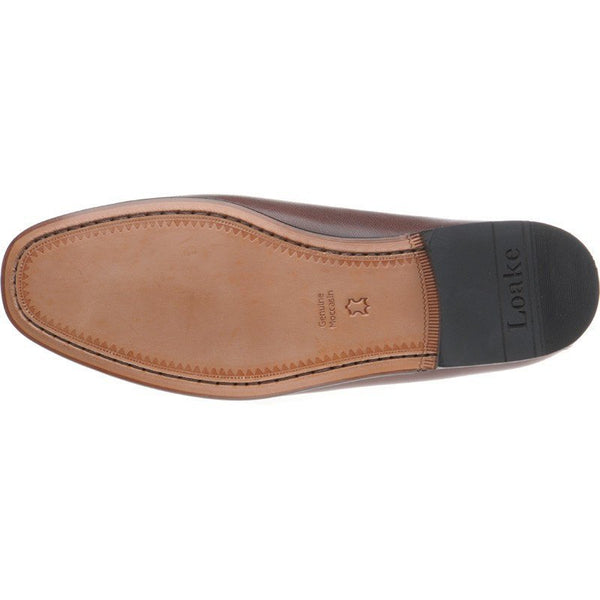 Shoes Men - LOAKE Skipton Brown Leather Loafer