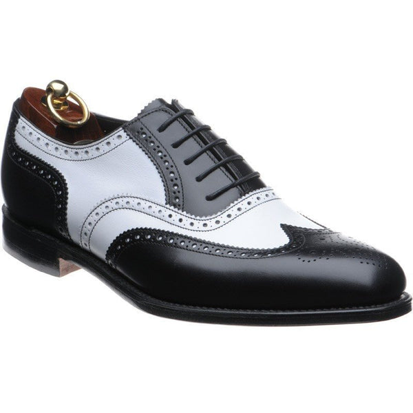 Shoes Men - LOAKE Sloane - Premium (two-tone) - Black/White