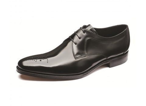 Shoes Men - LOAKE  Soren Polished Derby Shoe - Black