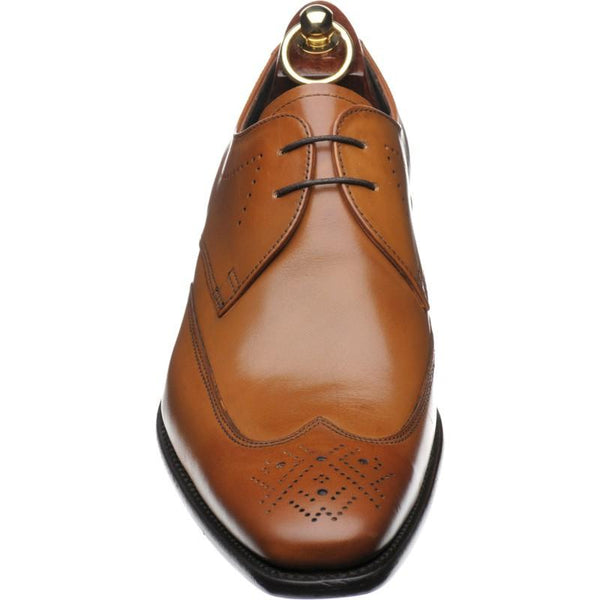 Shoes Men - LOAKE Stitch Derby Shoe - Tan Calf
