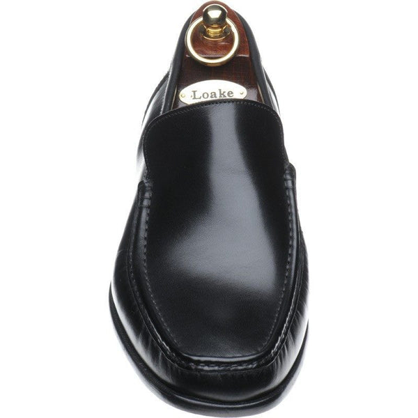 Shoes Men - LOAKE Treviso Black Leather Loafer