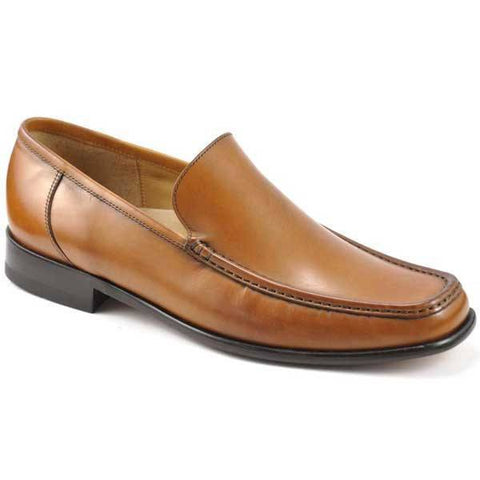 Shoes Men - LOAKE Treviso Tan Leather Loafer