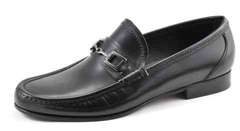 Shoes Men - LOAKE Verona Black Leather Loafer