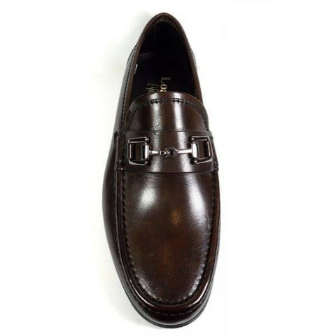 Shoes Men - LOAKE Verona Dark Brown Leather Loafer