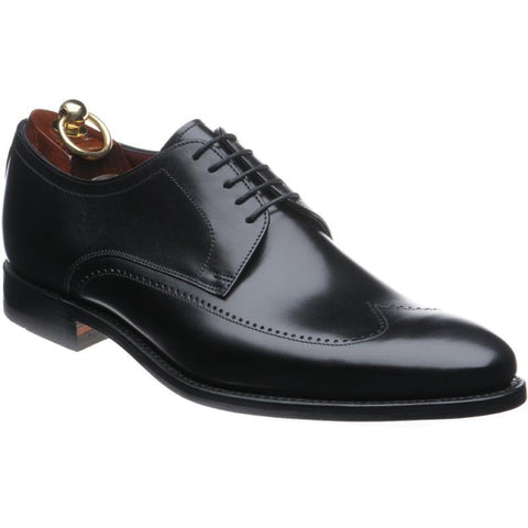 Shoes Men - LOAKE Victor Stylish Derby Shoe - Black Calf