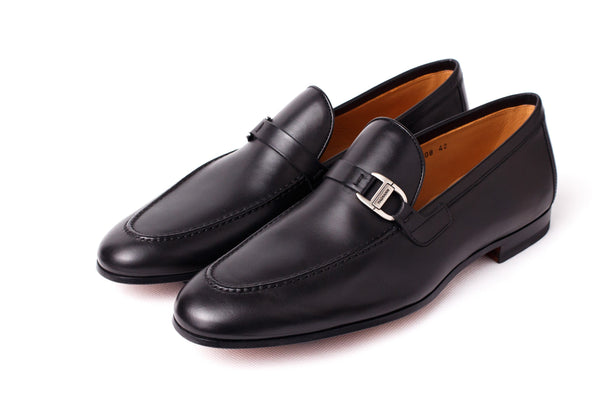 Shoes Men - MAGNANNI - Rico Calfskin Loafer - Black
