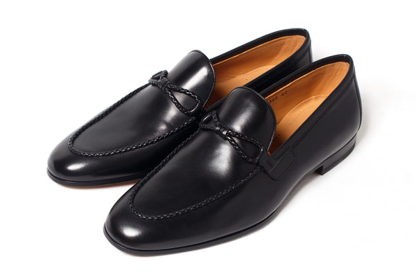 Shoes Men - Magnanni - Trencilla Loafer - Black