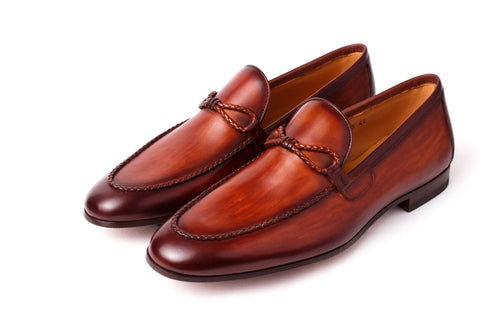 Shoes Men - Magnanni - Trencilla Loafer - Cognac