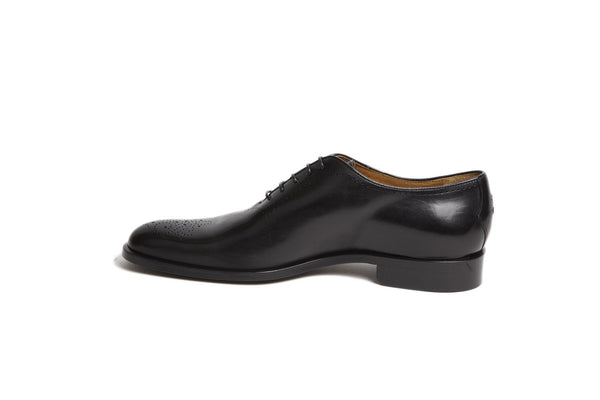 Shoes Men - Oliver Sweeney Felino Black Wholecut Oxford