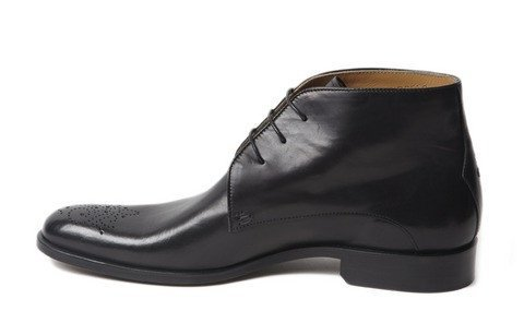 Shoes Men - Oliver Sweeney Noceto Black Derby Wholecut Boot