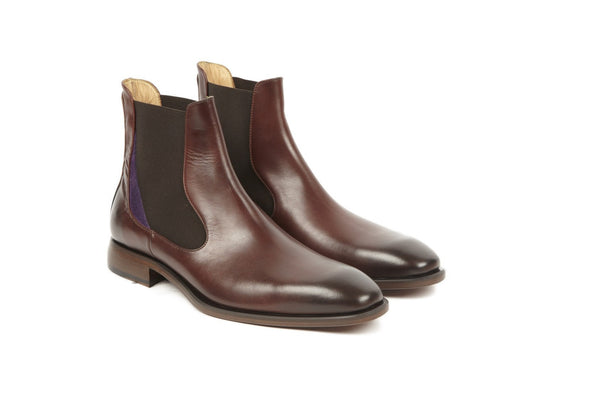 Shoes Men - Oliver Sweeney Nuxis Brown Leather Chelsea
