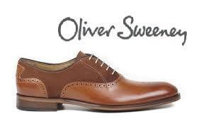 Shoes Men - Oliver Sweeney Tondela Leather & Suede Brogue - Chestnut