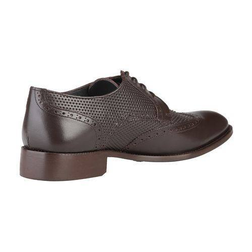 Shoes Men - ROCHAS - Leather LaceUp Shoes - Brown
