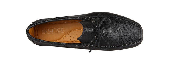 Shoes Men - SPARCO Drivers - Mocassin - Black Calf Leather