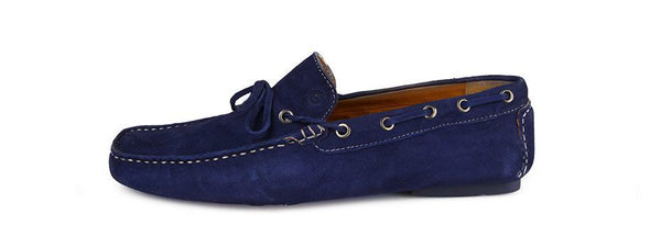 Shoes Men - SPARCO Drivers - Mocassin - Blue Suede