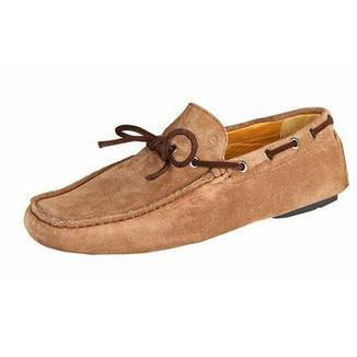 Shoes Men - SPARCO Drivers - Mocassin - Taupe-Brown Suede