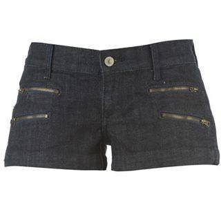 Shorts - Women - Voodon Dolls Denim Shorts Ladies- Blue