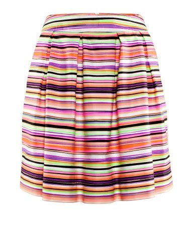 Skirt - H & M Multistriped Skirt