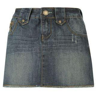 Skirt - Lee Cooper Mini Skirt - Denim