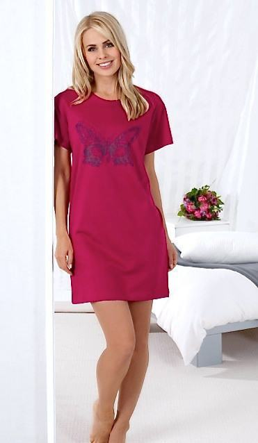 Ladies pyjama, Short sleeved - Ninostyle