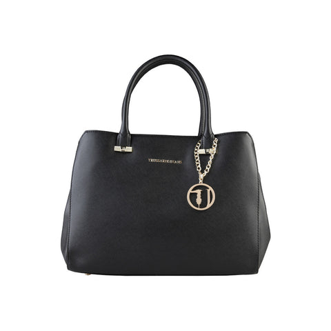 Trussardi Large Tote Handbag - Black