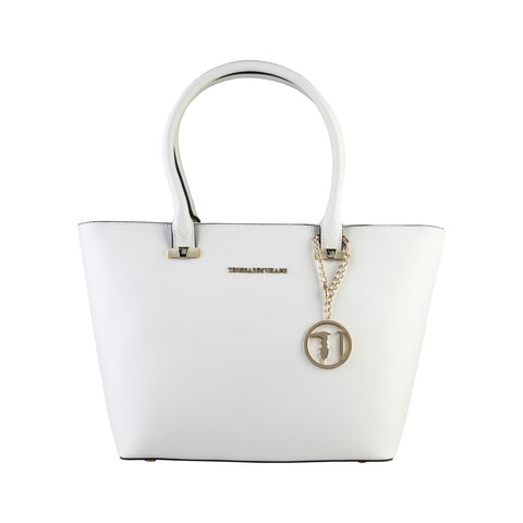 Trussardi  Tote Shopping Handbag - White