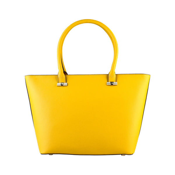 Trussardi  Tote Shopping Handbag - Yellow