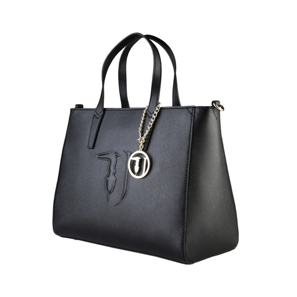 Trussardi hobo Shopping Handbag - Black