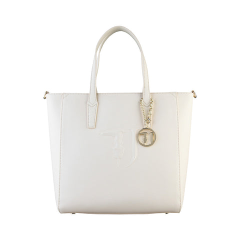 Trussardi Shopping Handbag - Beige