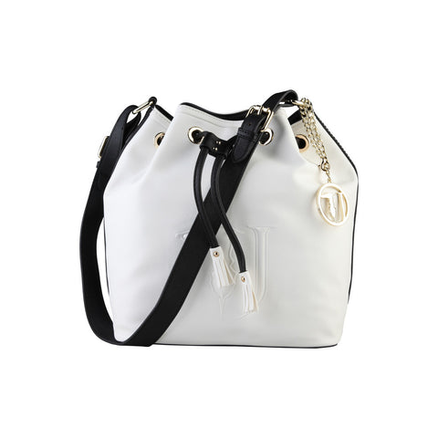 Trussardi Bucket bag - White & Black