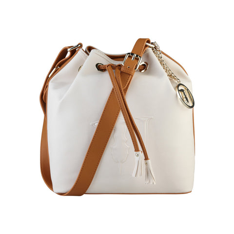 Trussardi Bucket bag - Beige & Honey