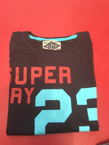 SUPERDRY T-shirt  - Navy