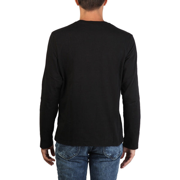 T Shirts - Lee - Long Sleeved Print Tshirt - Black