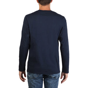 Lee - Long Sleeved Print tshirt - Blue - Ninostyle
