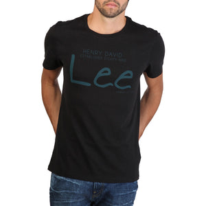 Lee - Print tshirt Slim fit - Black - Ninostyle