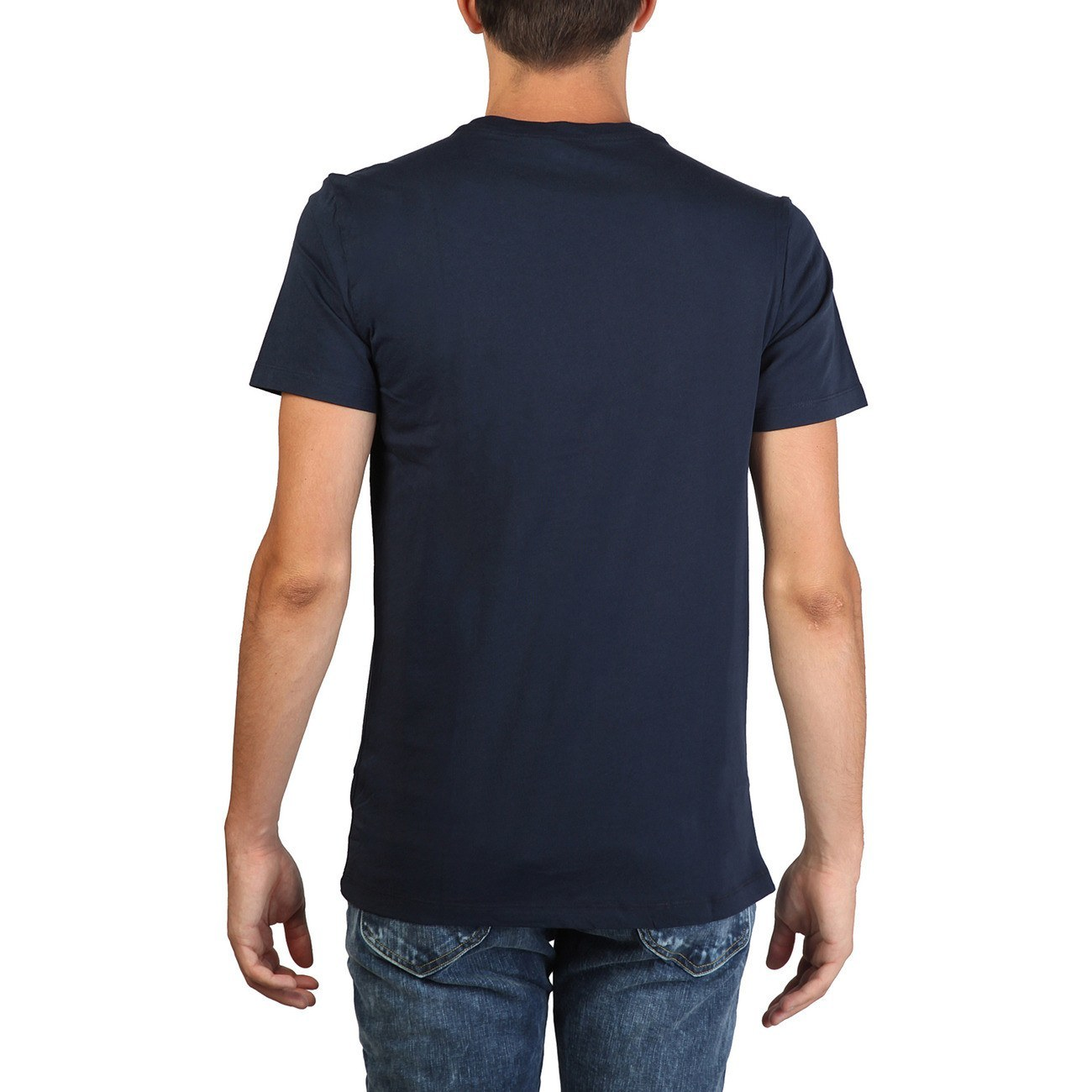 Lee - Print tshirt Slim fit - Blue - Ninostyle