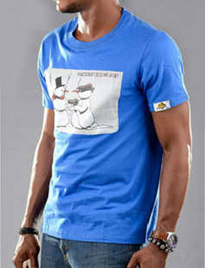 Snowman Graphic T-shirt for guys - Bandit Urban Clothing - Ninostyle